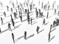 Low Poly Posed People Pack 8