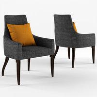 baker kallisto armchair 3D model