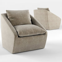 3D harper swivel chair kelly