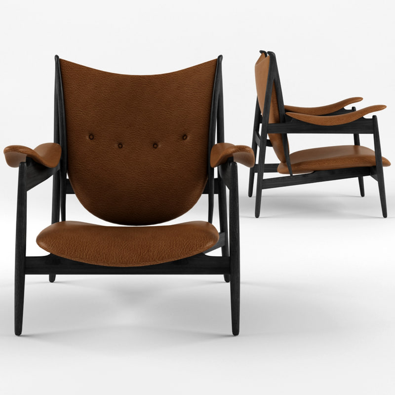 ... 3D Finn Juhl Chieftain Chair Model ...