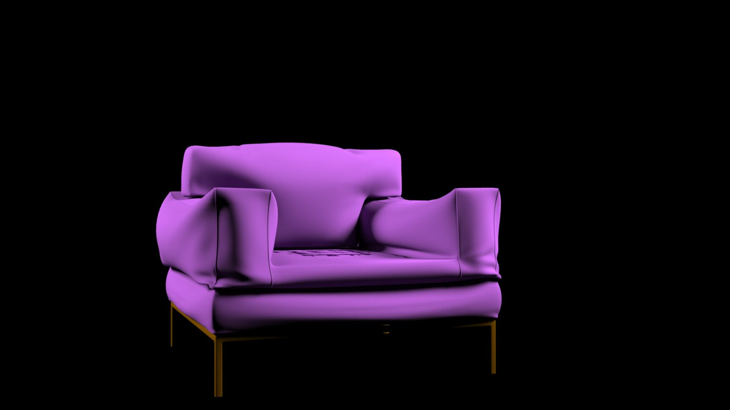 chair sofa model