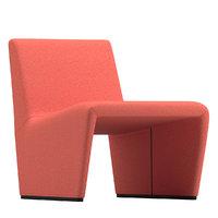 3D patty chair lievore altherr