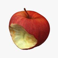 bitten apple model