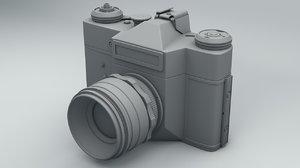 ussr camera 3D model