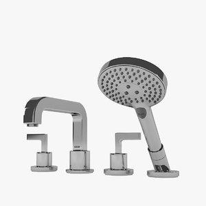 citterio 39446000 bath mixers 3D model