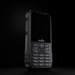 phone sonim xp 3D model
