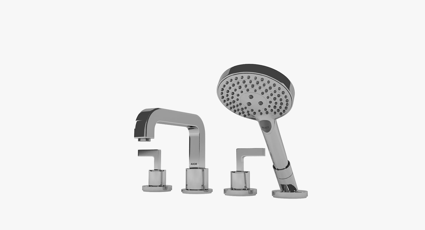 citterio 39446000 bath mixers 3D model