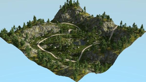 3D rough path