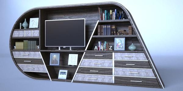 3D modern buffet