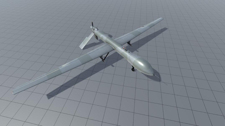 general atomics mq-1 drone 3D model