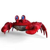 3D crab toon