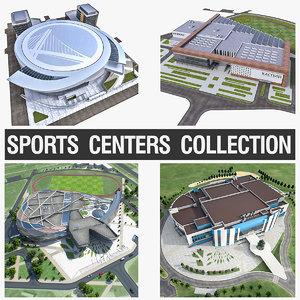 sports center 3D model