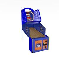 3D model hoopsfx basketball