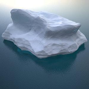 iceberg h v2 3D model