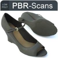 3D model 126 shoe