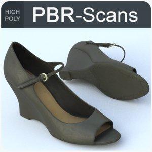 3D 126 shoe hi model