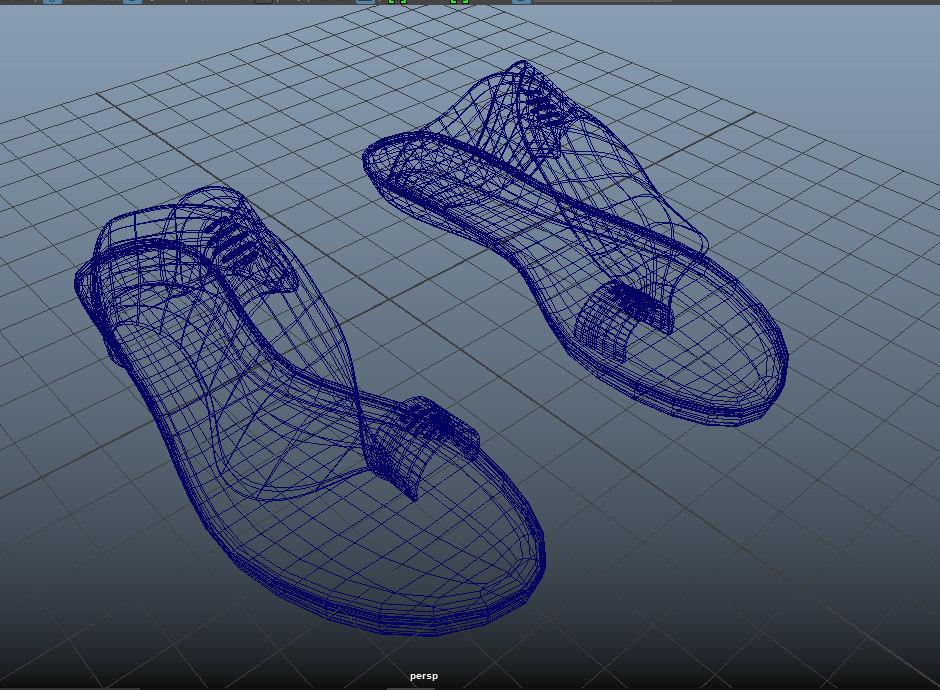 leather sandal model