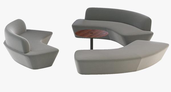 3D open model
