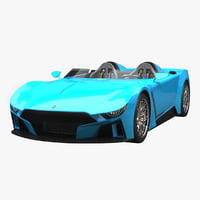 3D apex concept roadster