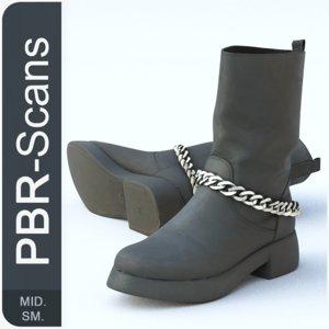 3D 139 boot sm model