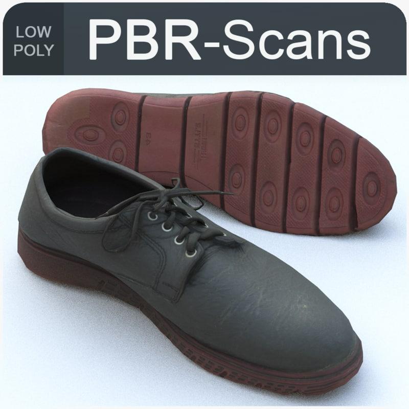 137 shoe 3D model