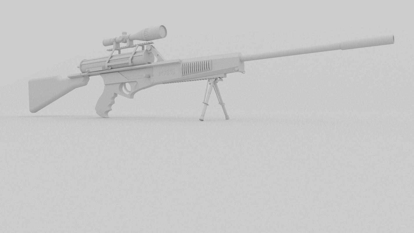 calico m951s 3D model