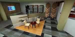 carpet store 3D