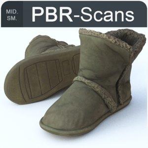 143 boot sm 3D model