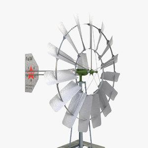 3d wind powered pump