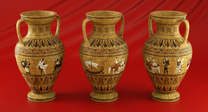 vase ancient 3d model