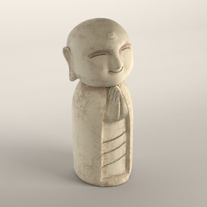 jizo statue 3D model