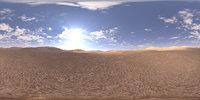 Early Midday Desert HDRI Sky