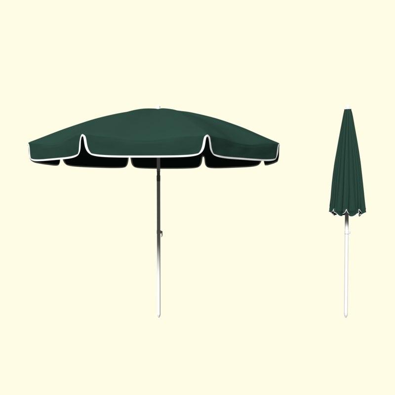 parasol umbrella beach 3d 3ds