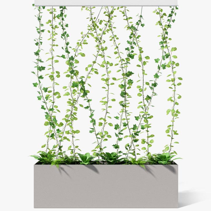 3D partition plant