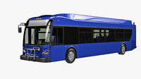 New Flyer XDE60 Short bus