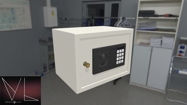 3D safe digital lock