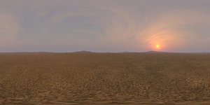 Late Afternoon Desert 3 HDRI Sky