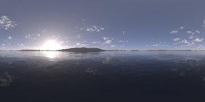 Morning Lake HDRI Sky