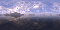 Morning Lake 2 HDRI Sky