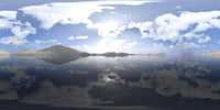 Midday Lake 2 HDRI Sky