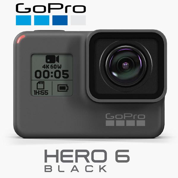 gopro hero6 black model