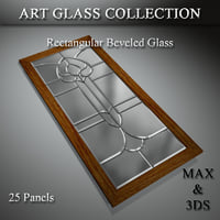 art glass set 12 3D