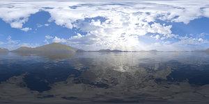 Early Afternoon Lake 2 HDRI Sky