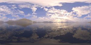 Afternoon Lake 2 HDRI Sky