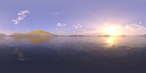 Late Afternoon Lake 2 HDRI Sky