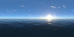 Afternoon Ocean HDRI Sky