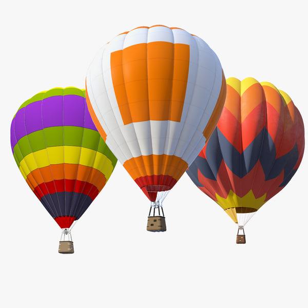 air baloon set 3d max