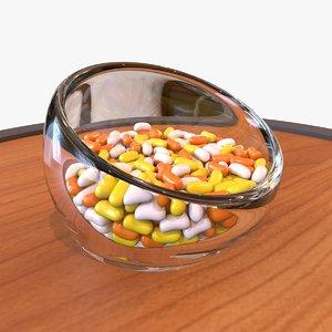 halloween jelly bean model