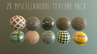 2k PBR Texture Pack