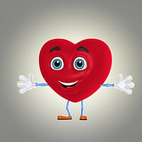 cool cartoon heart max